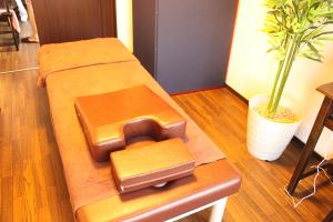落ち着いた中国テイストの治療室